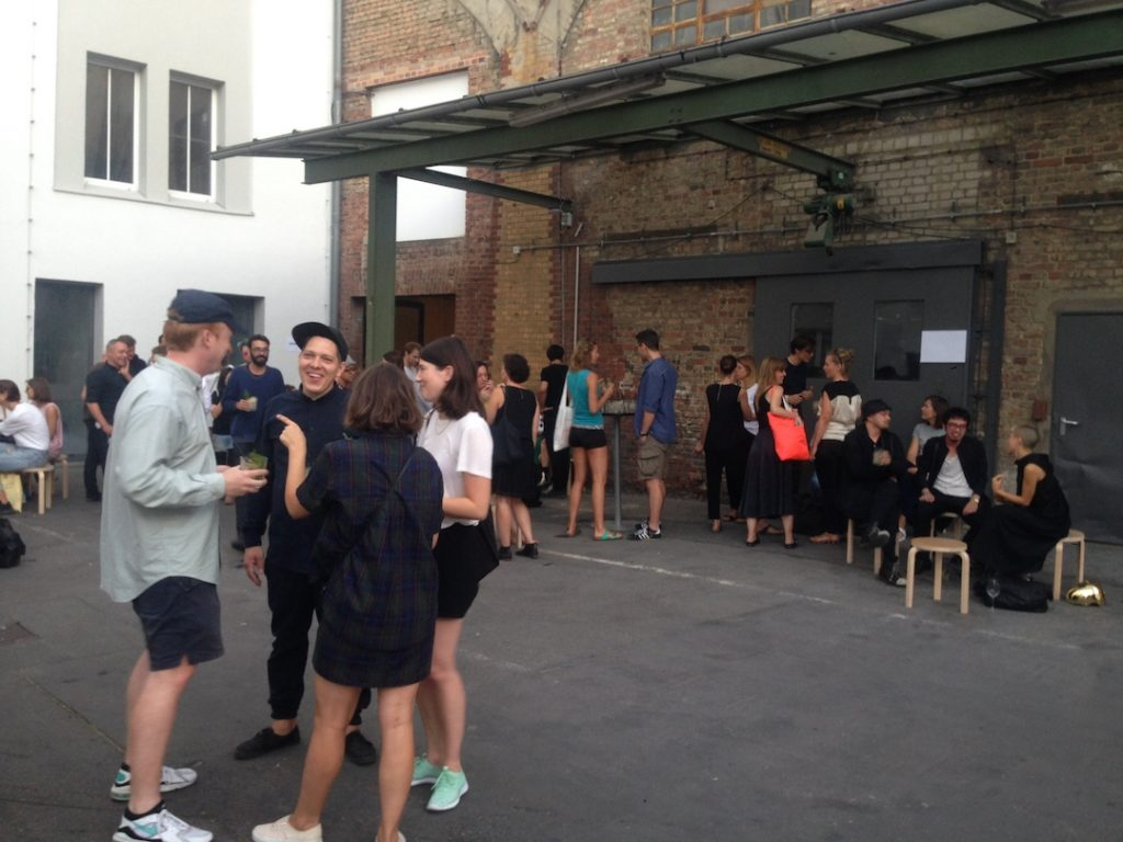 Picture of the event with Absolut Vodka at Berlin Art Fair