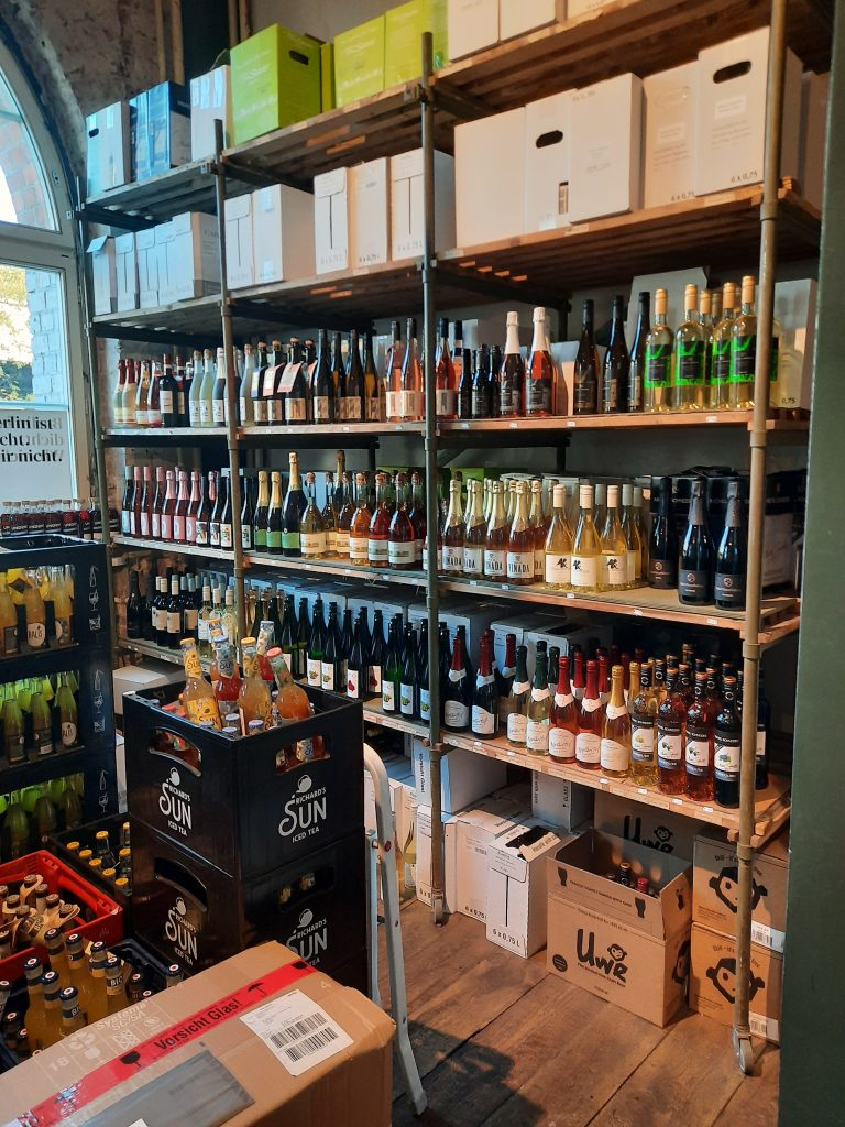 Photo of the Nullprozent Temporary Shop with Non alcoholic Adult Beverage