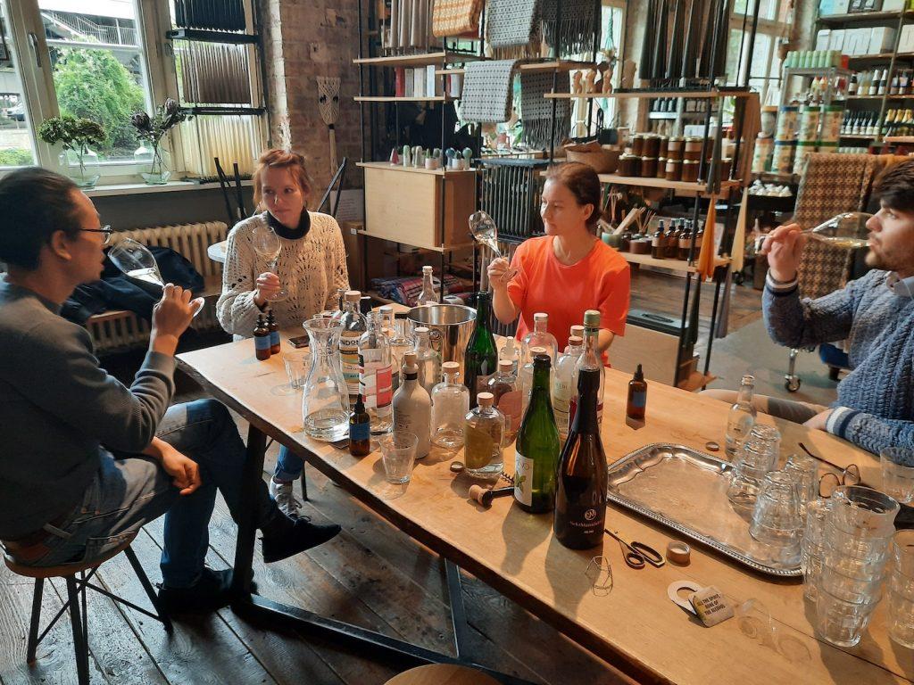 Picture of a The beverage bureau workshop